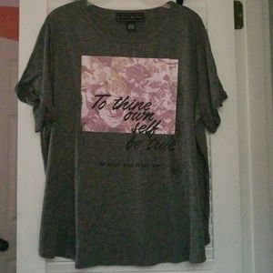 Rue21 • Scoop Neck Short Sleeve Tee